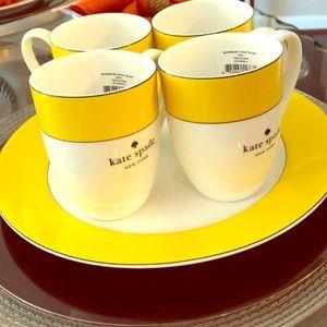 KATE SPADE NEW YORK Rutherford circle Coffee Mugs